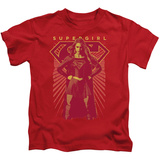 Juvenile: Supergirl- Red Shift T-shirts