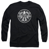 Long Sleeve: Supergirl- DEO Badge Long Sleeves