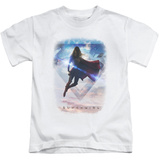 Juvenile: Supergirl- Cloudy Serenity T-shirts