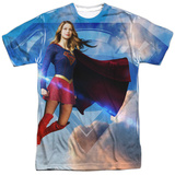 Supergirl- Endless Sky Womens Sublimated