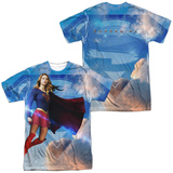 Supergirl- Endless Sky (Front/Back) T-Shirt