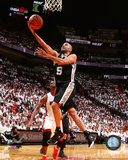 Tony Parker Game 3 of the 2014 NBA Finals Action Photo
