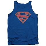 Tank Top: Supergirl- Classic Emblem Tank Top