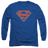 Long Sleeve: Supergirl- Classic Emblem Long Sleeves