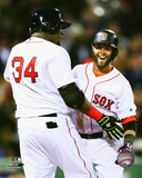 David Ortiz & Dustin Pedroia 2016 Photo