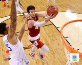 Frank Kaminsky University of Wisconsin Badgers 2015 Action Photo