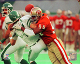 Charles Haley 1989 Action Photo
