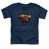 Toddler: Supergirl- Radiant Shield Shirt
