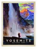 KC NP Yosemite Falls Affiche par  Anderson Design Group