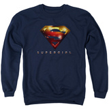 Crewneck Sweatshirt: Supergirl- Radiant Shield T-shirts