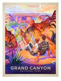 KC NP GrandCanyon AGrandVista Prints by  Anderson Design Group
