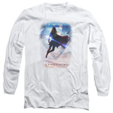 Long Sleeve: Supergirl- Cloudy Serenity Long Sleeves