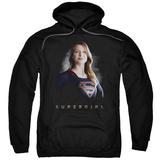 Hoodie: Supergirl- Fearless Heroine Pullover Hoodie