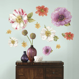 Lisa Audit Blossom Peel and Stick Giant Wall Decals Wall Decal