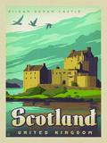 WT ScotlandCastle Poster by  Anderson Design Group