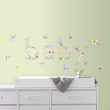Kathy Davis Baby Butterflies Peel and Stick Wall Decals Wall Decal