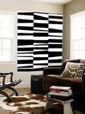 Monochrome Patterns 7 Wall Mural by Natasha Marie