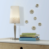 Craft Flower Embellishments Wall Decal
