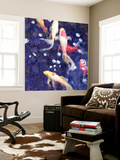 Koi 2 Wall Mural by Thea Schrack
