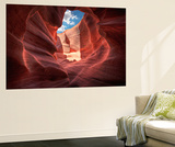 Antelope Canyon Wall Mural by Jamie Cook
