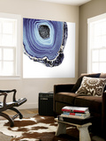 Indigo Agate C Wall Mural by THE Studio