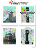 Vancouver British Columbia Prints by Lyn Nance Sasser and Stephen Sasser