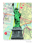 Statue Of Liberty - Nyc Prints by Lyn Nance Sasser and Stephen Sasser