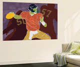 QB Ready Wall Mural by Robert Williamson