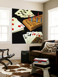 Cribbage Wall Mural by Ray Pelley