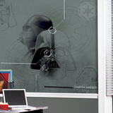 Star Wars Darth Vadar Prepasted Mural Wallpaper Mural