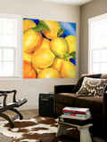 Zest For Life Wall Mural by Terri Hill
