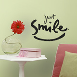 Kathy Davis Just Smile Peel and Stick Wall Decals Wall Decal