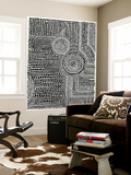 Clustered Dots A Wall Mural by Natasha Marie