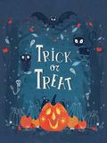 Trick or Treat Plakat af  Advocate Art