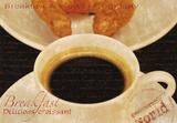 Coffee Morning II Impression giclée par Teo Tarras