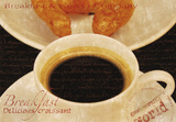 Coffee Morning II Giclee Print by Teo Tarras