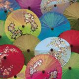 Parasols II Giclee Print by Jon Hart Gardey