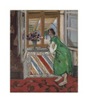 Jeune Fille a la Mauresque, Robe Verte Prints by Henri Matisse