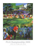 PGA Championship Prints by LeRoy Neiman