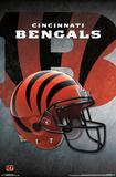 NFL: Cincinnati Bengals- Helmet Logo Posters