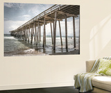Old Wooden Pier Wall Mural by Lillis Werder