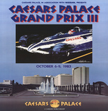 Caesars Palace Grand Prix III Prints by LeRoy Neiman