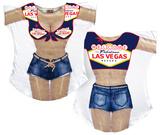 Las Vegas Cover-Up (Front/Back) Vêtements
