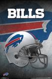 NFL: Buffalo Bills- Helmet Logo Poster