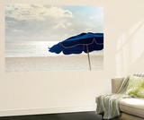 Blue Umbrella Wall Mural by Brookview Studio