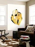 Faceted Gem D Wall Mural by Natasha Marie