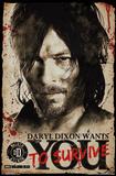 Walking Dead- Daryl Wants You Prints