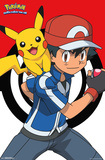 Pokemon- Ash & Pikachu Best Buds Posters