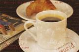 Coffee Morning I Impression giclée par Teo Tarras