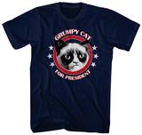 Grumpy Cat For President T-skjorter